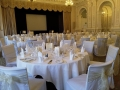 Chair covers with sash at the Grand in Eastbourne