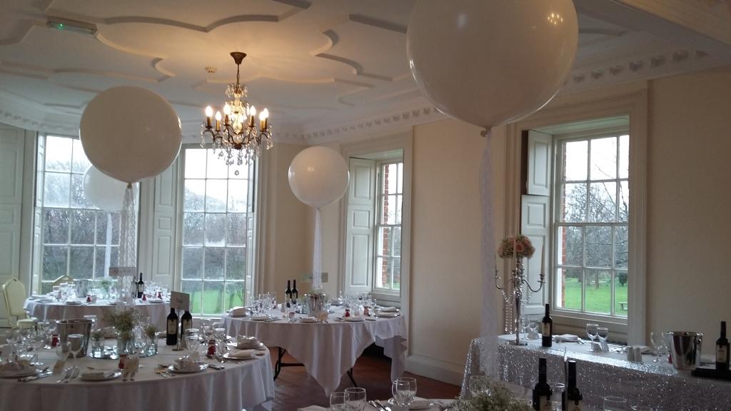 Large round balloons