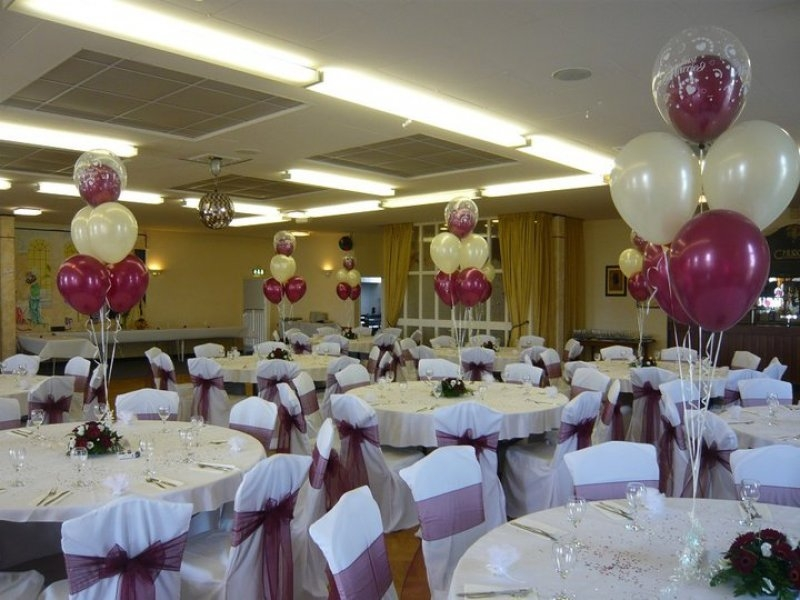 Balloon table centre pieces