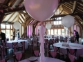 Large balloons with tassles
