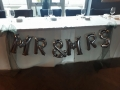 MR and MRS air filled balloons