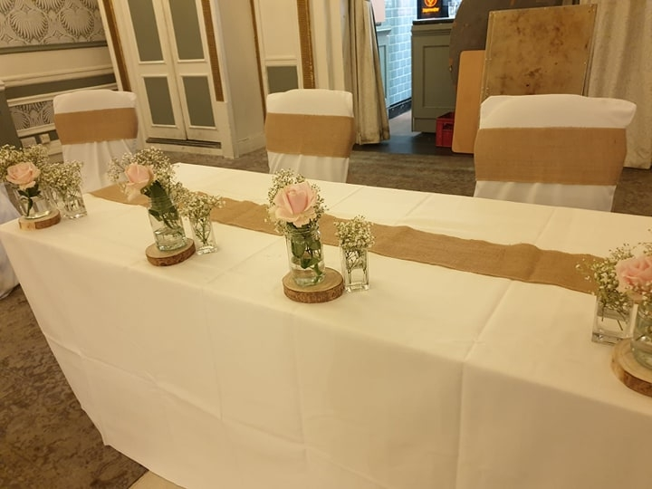 Ceremony Table Decorations