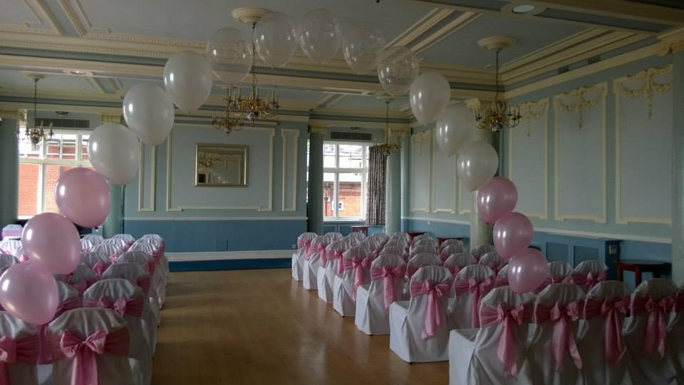 Pretty in pink at the Hydro hotel, Eastbourne