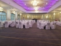 White chair covers with silver sash at Bannatynes in Hastings