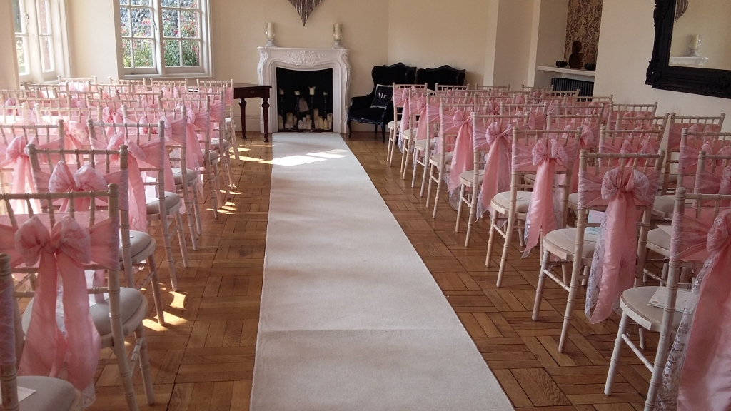 Chivari chairs at Gildredge Manor