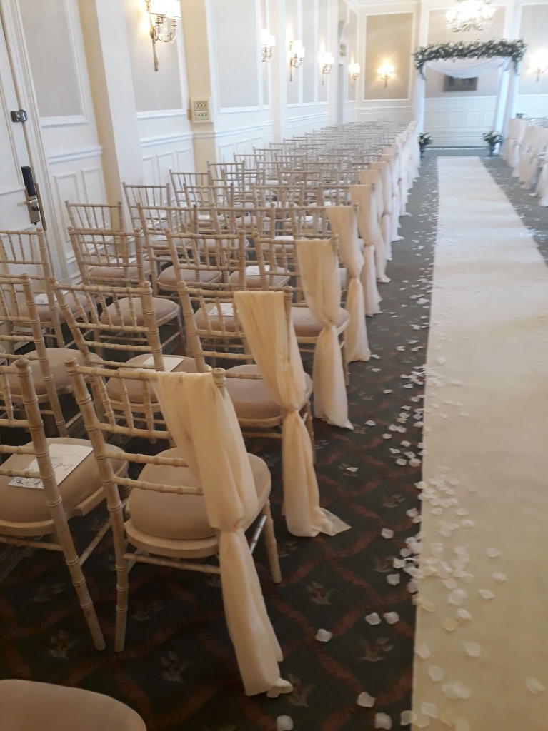 Chivari Chairs at the Grand in Eastbourne