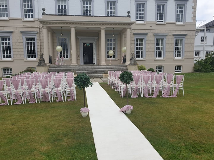 Chivari chairs at Buxted Park