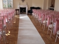 Chivari chairs at Gildredge Manor
