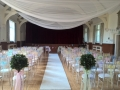 Chivari chairs at Queens Hall Cuckfield