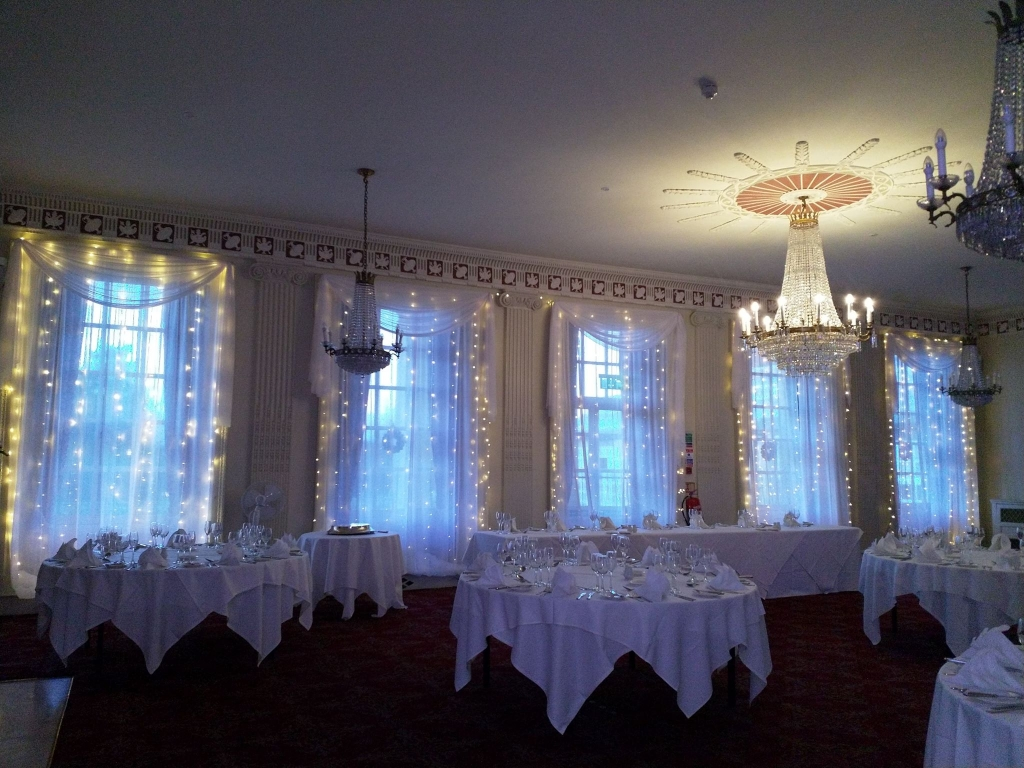Buxted Park Window draping