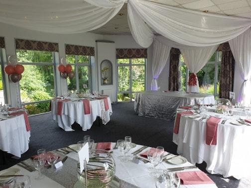 Deans Place wedding decor