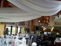 West Hove Golf Club Wedding drapes at West Hove Golf Club