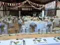 Bunting at Blackstock barn