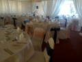 Wall drapes at Wellshurst golf club