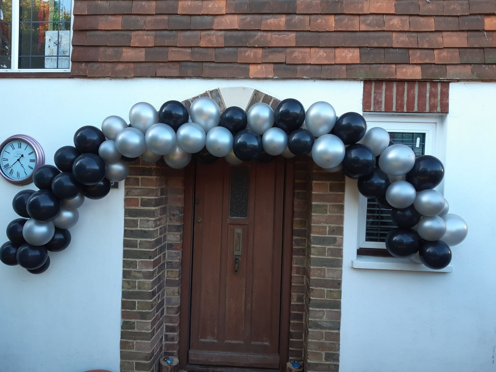Doorway Balloon Arch
