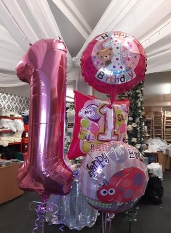 Age 1 Balloon Displays