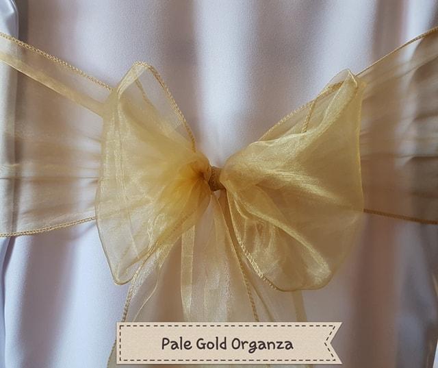 PALE GOLD ORGANZA