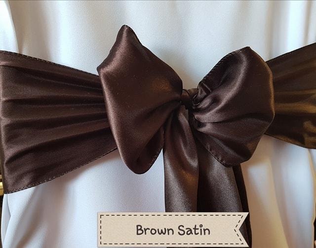 BROWN SATIN
