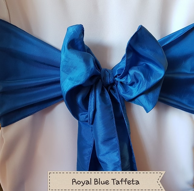 ROYAL BLUE TAFFETA