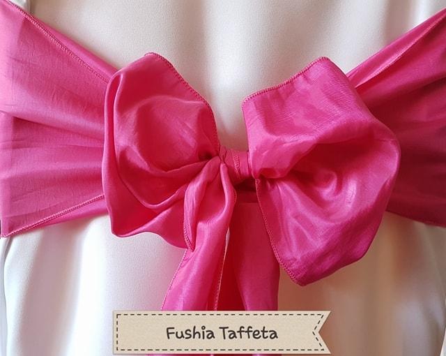 FUSHIA TAFFETA