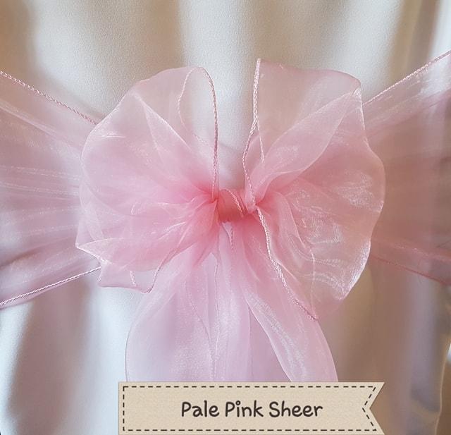 PALE PINK SHEER