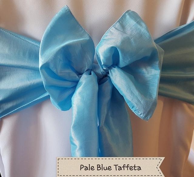 PALE BLUE TAFFETA