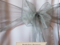 DARK GREY ORGANZA