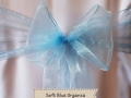SOFT BLUE ORGANZA